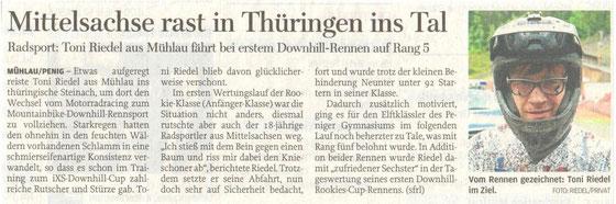 Freie Presse Penig/Rochlitz 15.05.2014
