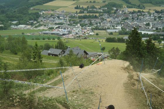 2. Rennen GDC Bike Festival Willingen 13. - 14.06.2015 - Blick auf Willingen von der Strecke