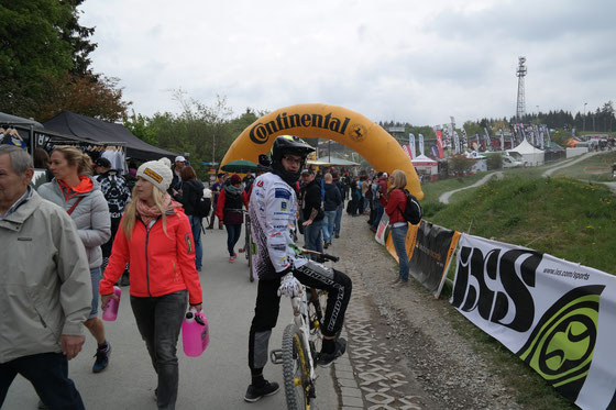 1. Rennen iXS German Downhill Cup - Dirt Masters Winterberg 23.-25.05.15