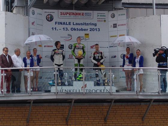 SIEGER beim letzten Rennen der Saison auf dem Lausitzring am  13.10.13