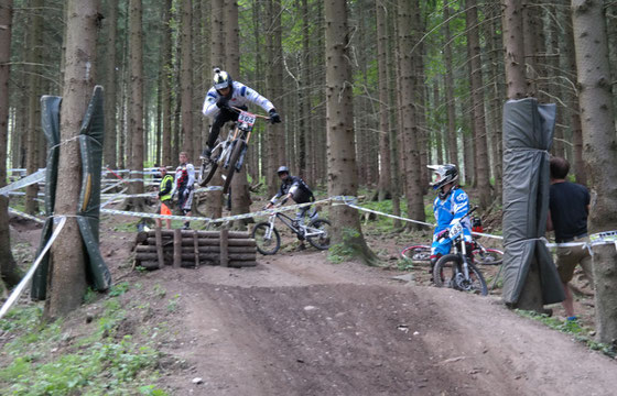 3. Rennen im iXS German Downhill Cup in Ilmenau 01.-.03.08.2014