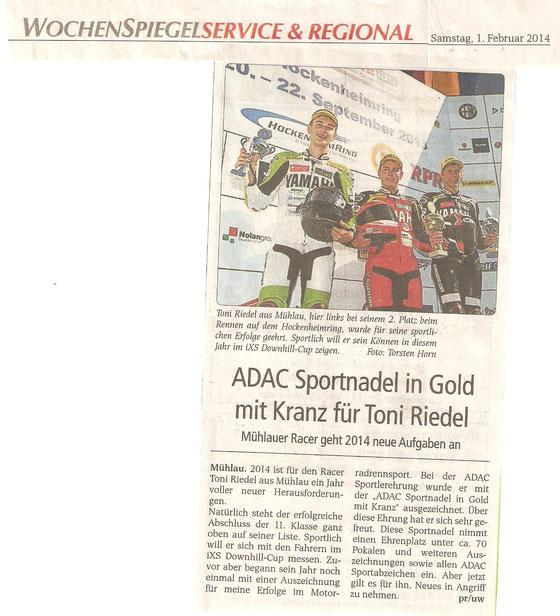 Wochenspiegel 01. Februar 2014
