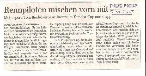 Freie Presse Penig/Lunzenau 05.11.2013