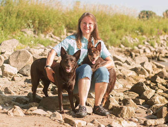 Marion mit March und Ruby