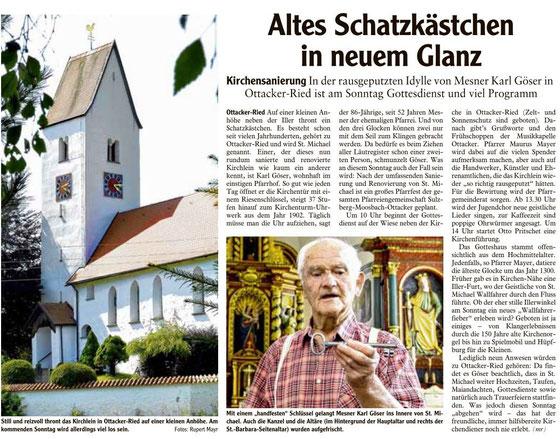Allgäuer Zeitung vom 19. Juli 2013