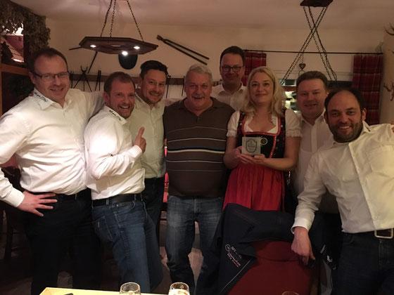 """Waldgasthaus """"Zum Wilden Schmied"""" - the Award goes to: Friedrich und Stefanie Hempelmann (18.12.2015)"""
