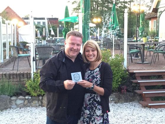 Villa Dümmersee - Alexandra Trautfest erhält den begehrten Award am 04.06.2015 aus den Händen des Präsidenten