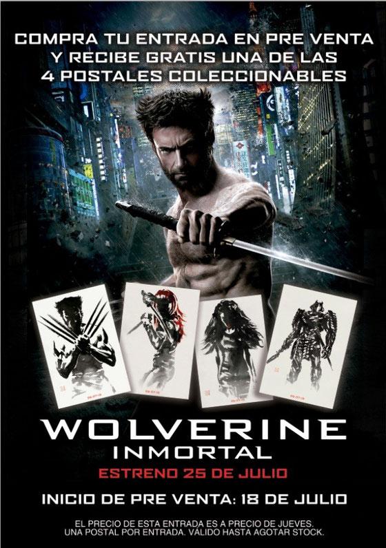 Wolverine: Inmortal Pre-venta
