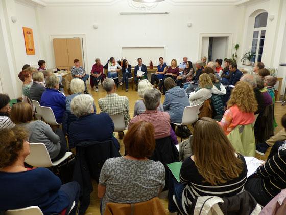 Treffen am 24. September 2015 aller Gruppen im Mehrgenerationenhaus in Friedlingen