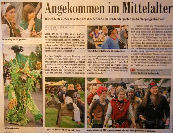 Badische Zeitung vom 14.06.10