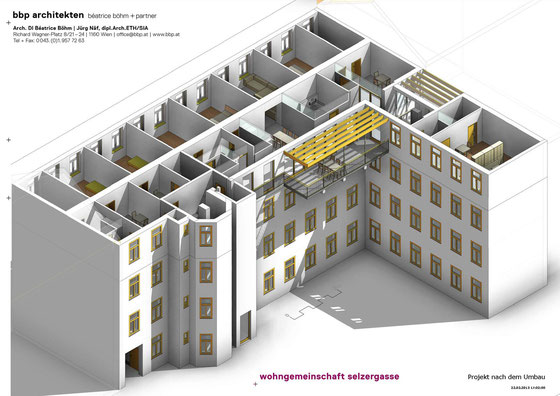 Wohngemeinschaft Selzergasse - Projekt nach dem Umbau