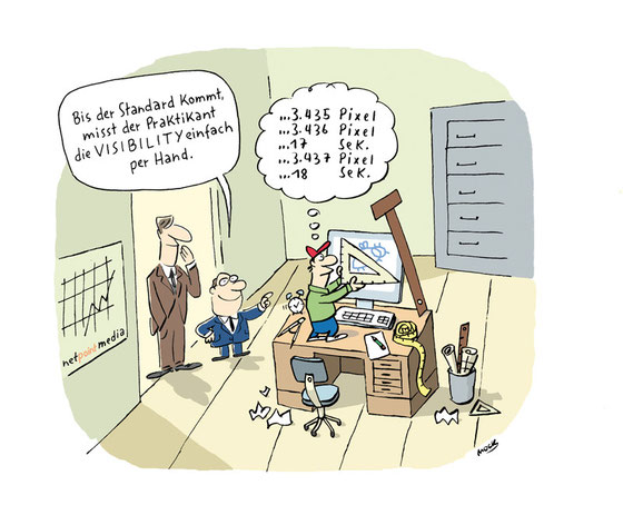 Cartoon von Mock zum Thema Internet