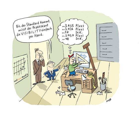 Cartoon von Mock zum Thema Internet