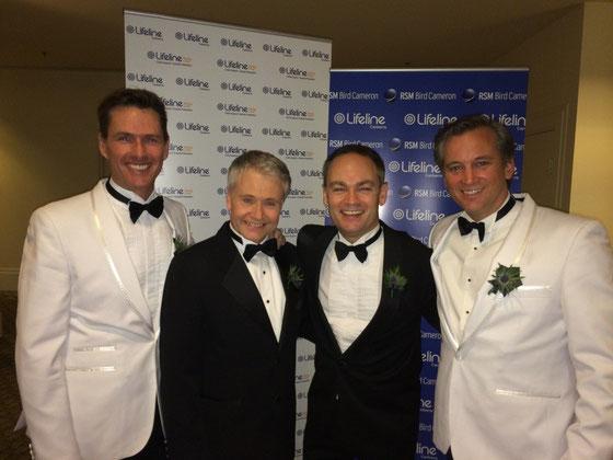 Scott Irwin, Derek Metzger, Darryl Lovegrove, Ian Stenlake