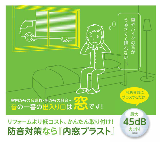 愛知県 岐阜県 三重県を中心に内窓プラスト 防音窓 工事 施工をする会社です
