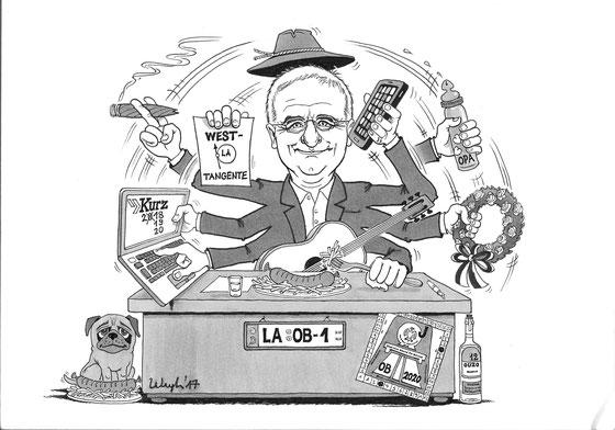 OB Alexander Putz Dezember`17: Ein Jahr im Amt