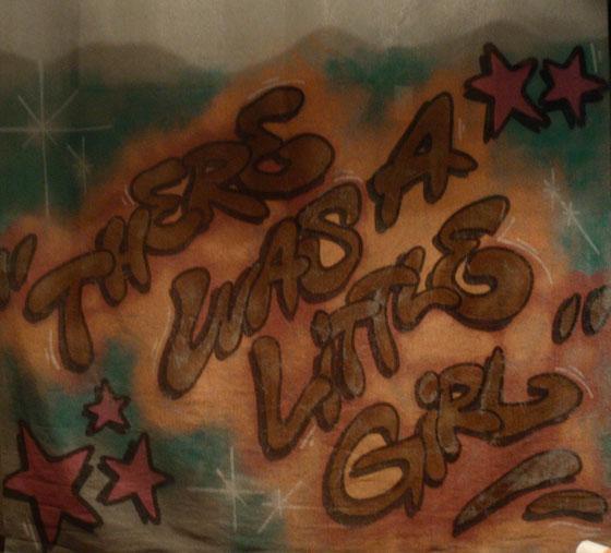 Bühnenbild-Graffiti