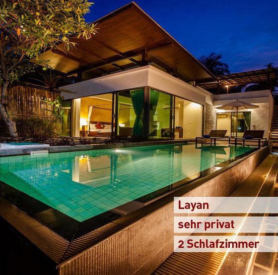 Phuket/Layan: Strandnah und sehr privat... auch zum günstigen Langzeitpreis!
