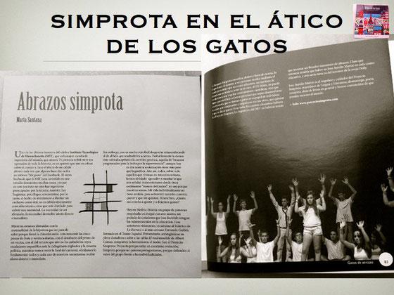Artículo de Marta Santana sobre Proyecto Simprota en la revista El Ático de los Gatos. Julio 2013.
