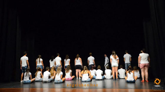 Movimiento, representada por el grupo Movimiento, escrita por Jose Aurelio Martín y Antonio López Piña, dirigida por Jose Aurelio Martín