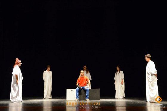Bang Bang, estás muerto, representada por el grupo Integrados, adaptación y dirección de Lola Díaz Cuevas