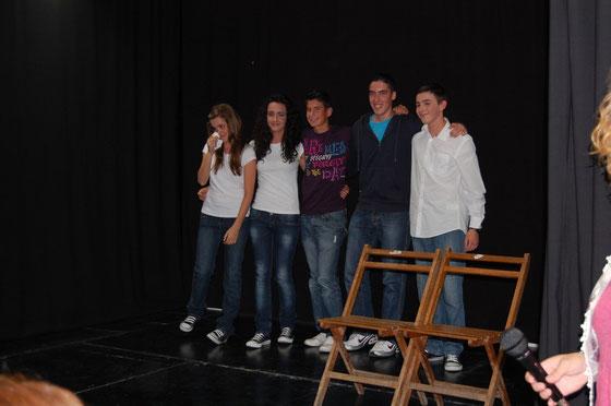 Frío/Cold representada por el grupo Simprota Bilingüe, escrita por Antonio López Piña y dirigida por Jose Aurelio Martín