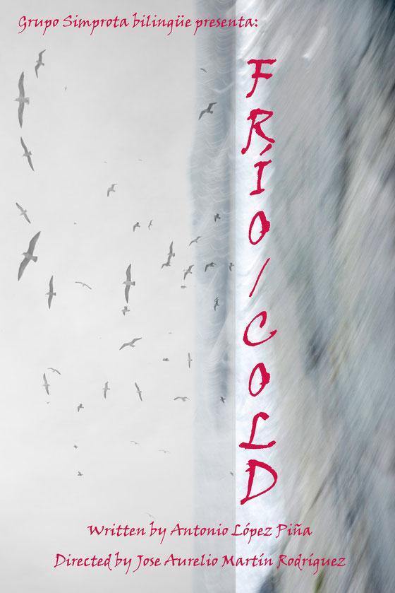 Cartel de la obra Frio/Cold
