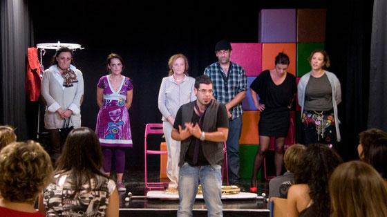 Grupo Sostén teatro con Jose Aurelio Martín