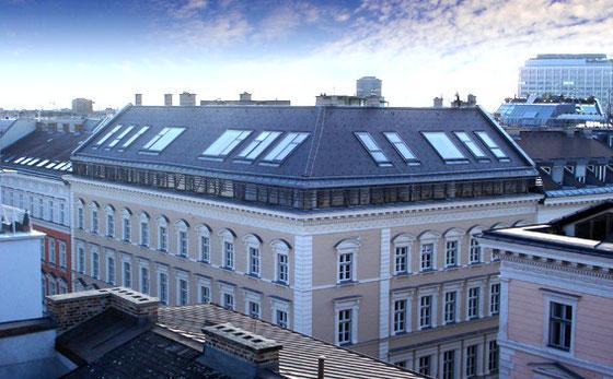 Zelingagasse Haussanierung Dachausbau
