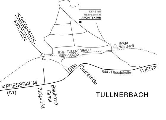 Lageplan Tullnerbach