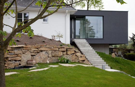 Einfamilienhaus Anbau