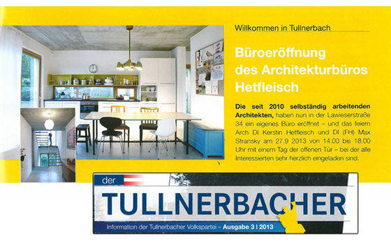 Tullnerbacher Artikel Ausgabe 3