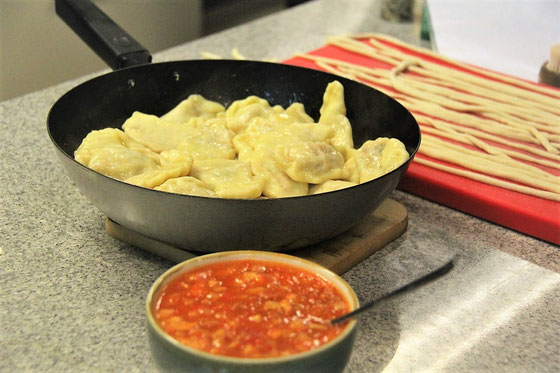 Chinesische Maultaschen  - Kochen mit Renz