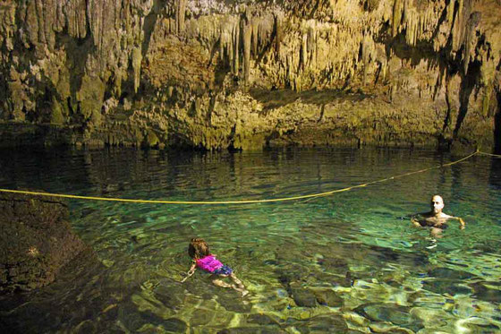 Choo-ha Cenote, near Coba Ruins