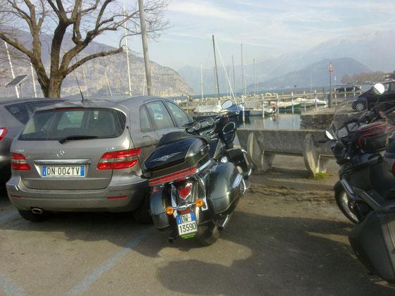Parcheggiare ad Iseo (certi automobilisti)