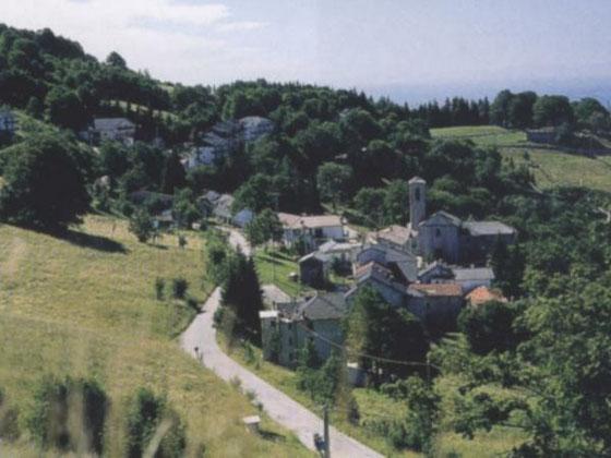 Il nucleo abitato di Valcava