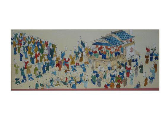 洲本市民会館緞帳画