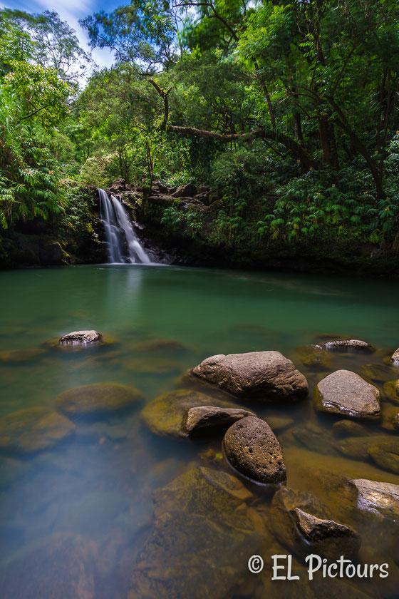 Waikamoi Waterfall, Road to Hana, Maui, Hawaii