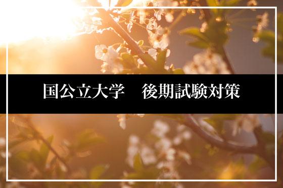 国公立後期試験小論文塾・面接塾