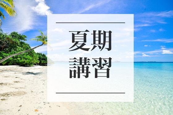 総合型選抜(AO入試)小論文夏期講習塾・志望理由書指導夏期講習塾
