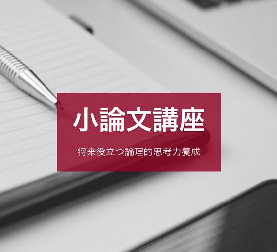 国公立大学2次試験小論文対策塾