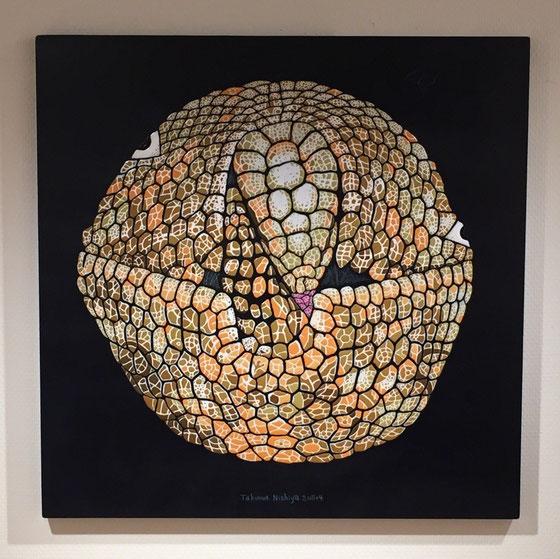 「アルマジロリ」60.6×60.6cm