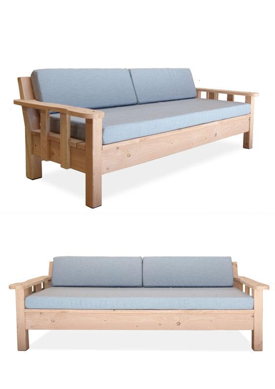 canapé bois d'extérieur made in france