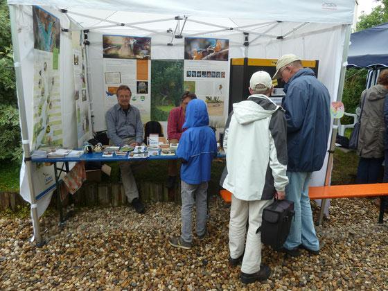 Der NABU Rheiderland präsentiert sich auf dem Kunst- und Kulturfest Coldam