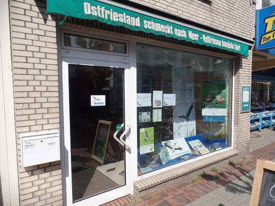 Die NABU Regionalgeschäftsstelle Ostfriesland liegt in der Auricher Innenstadt