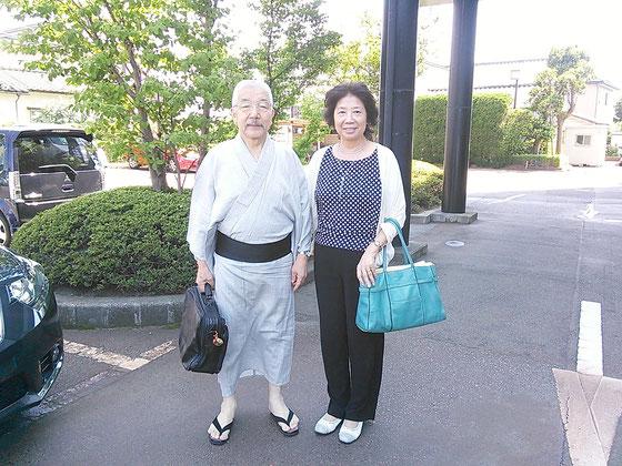 新潟県支部 事務担当 土屋淳一先生・理事 堀洋子先生