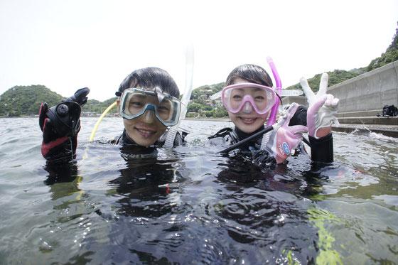 熊本天草体験ダイビングイメージ写真