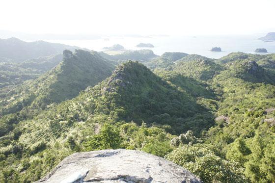 千厳山展望台の絶景