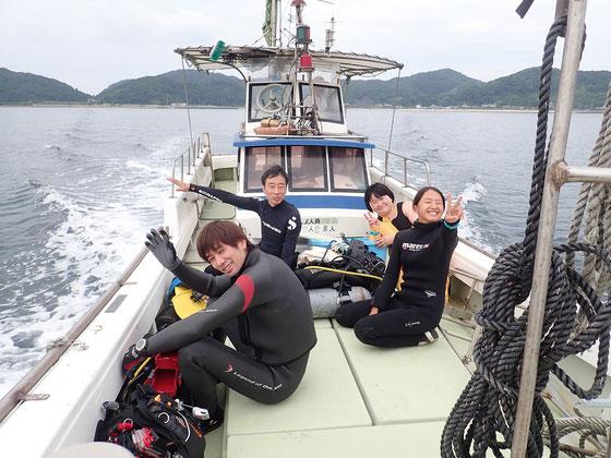 天草ボートダイビングイメージ