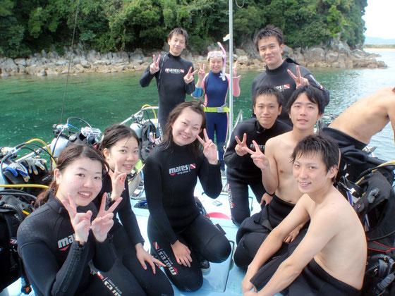 体験ダイビングイメージ写真